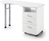 Sibel Vivian Table de Manucure 120x45x78 cm