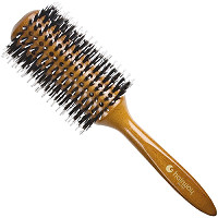 "Hairway Brosse ronde ""Glossy Wood"""