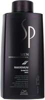 Wella SP Shampoing Maxximum pour hommes, 1000 ml